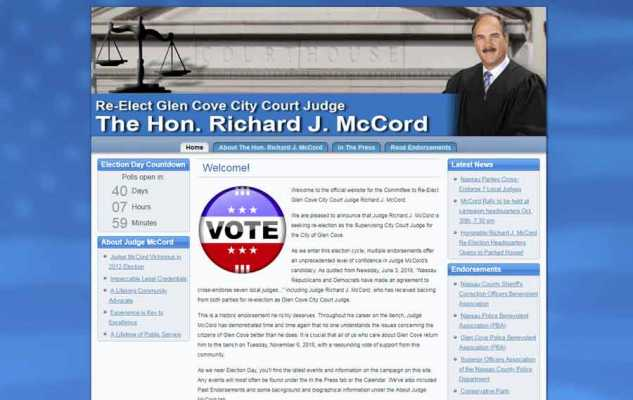 Judge McCord Website